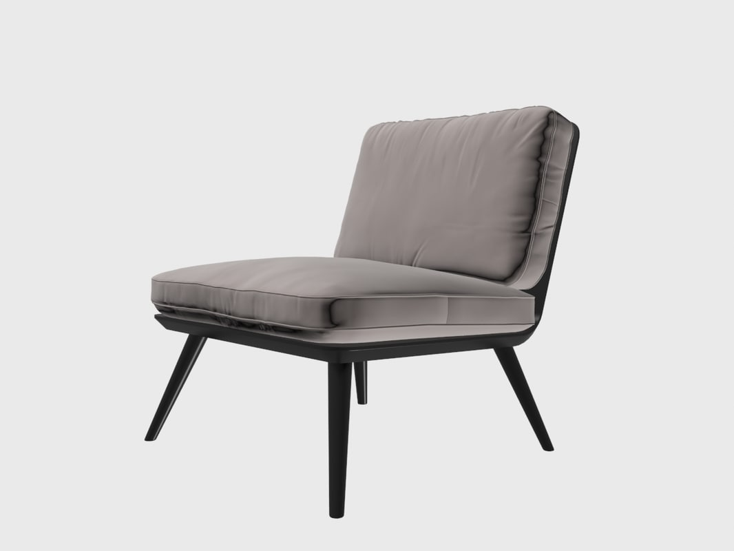 Spine Turbosquid Fredericia 3d 1195854 Lounge Chair kw08nXOP