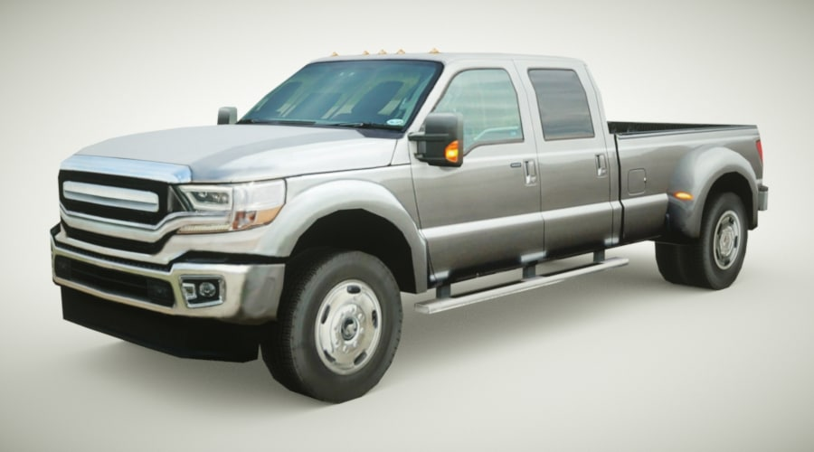 3D model generic pickup v2