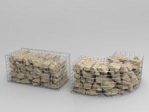 3D types gabion -