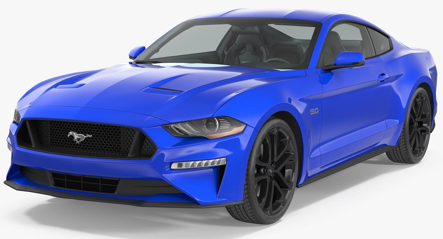 Ford mustang gt 2018 ru