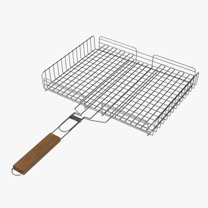 grill v-ray 3D