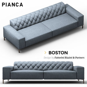 boston sofa 3D model
