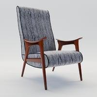 Scandinavian armchair  1960