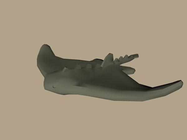 3D lego manta