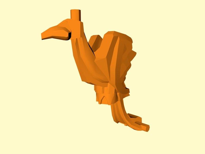 3D lego phoenix