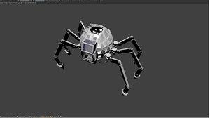 robot mechas 3D model