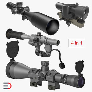 3D military scopes