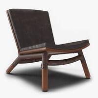 3D espasso chair model