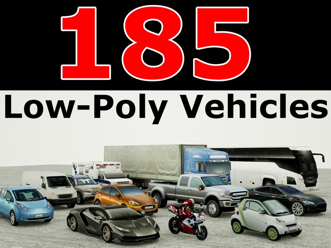 3D 185 vehicles