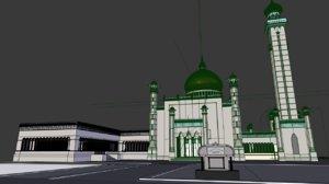 sultan omar ali saifuddien 3D model