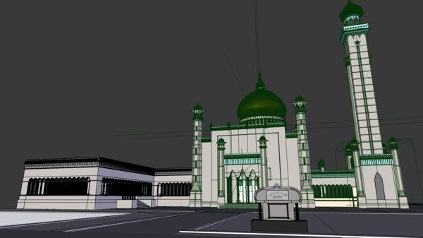 Mosque 3D Models for Download | TurboSquid