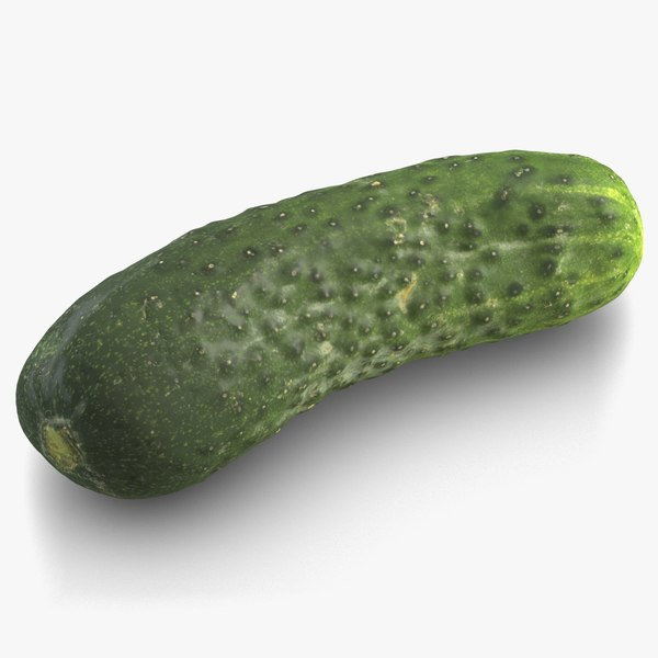 cucumber subdivision displacement 3D model