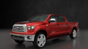 3D model toyota tundra 2008