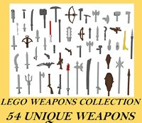 LEGO 54 Weapon Collection