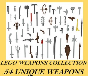lego weapon 3D model