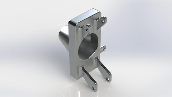 3D racing upright model