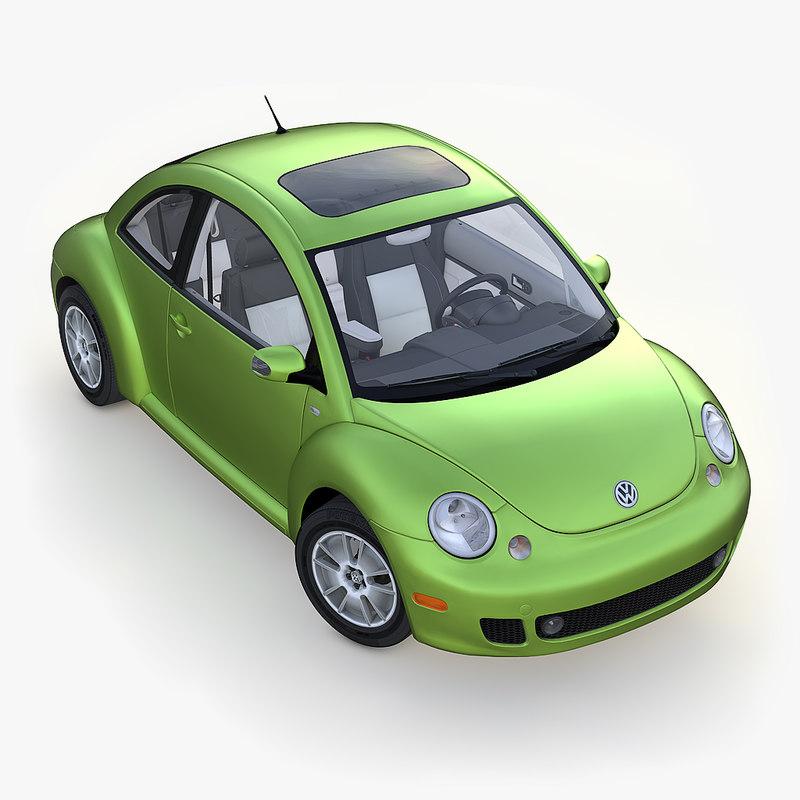 volkswagen beetle 2005 3D model
