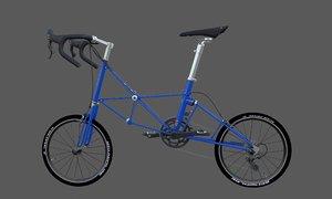 3D alex moulton am20 model