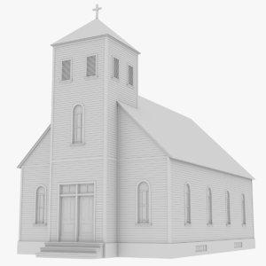 church 1 model
