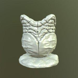 wacom stylus holder egg 3D