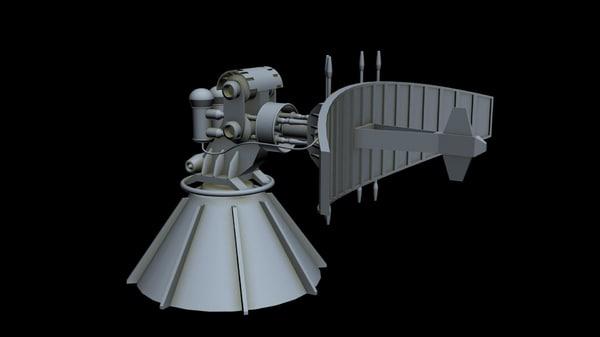sci-fi radar 1 model