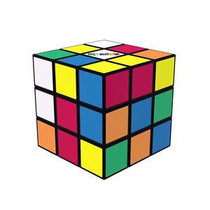 3D rubik s cube model
