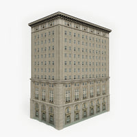 3D ready office building