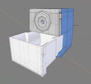 3D realistic pencil sharpener