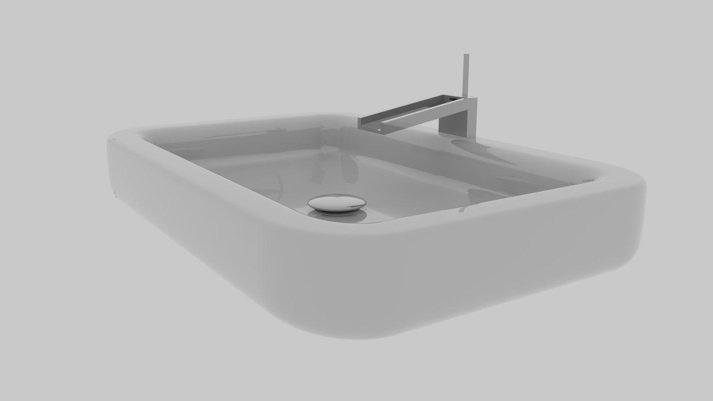 3D lavabo