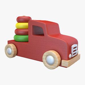 toy truck 3 3D model