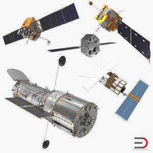 3D model satellite 2