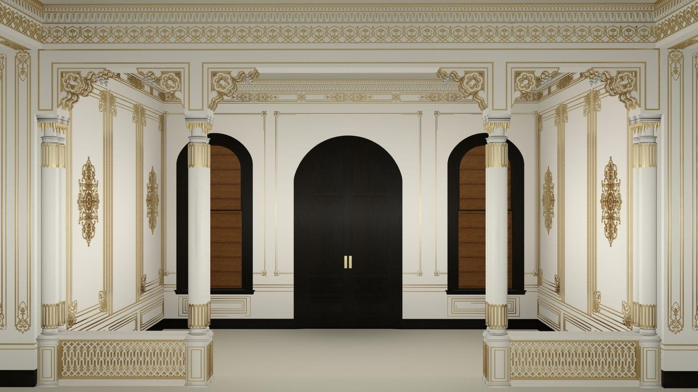 scene palace room model