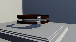 armani bracelet 3D