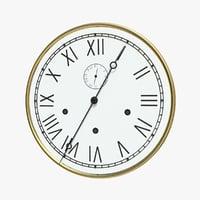clock grandfather model