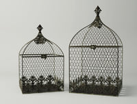 3D square birdcages model