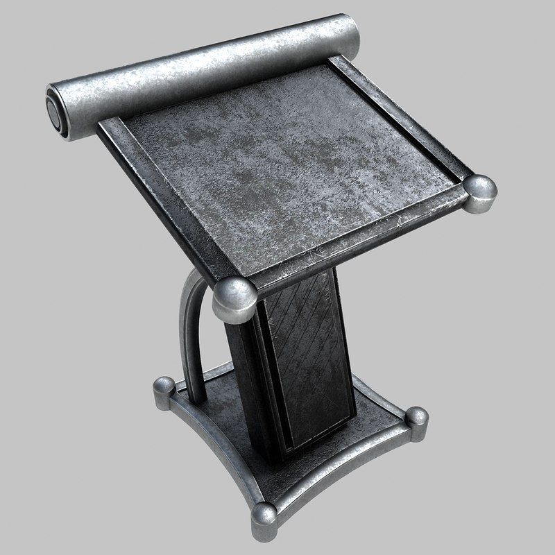 reading stand 3D model