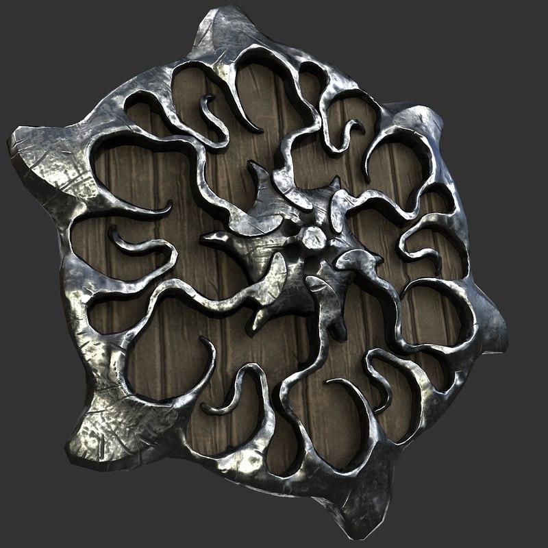 shield fantasy 3D