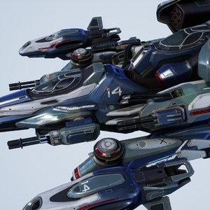 falcon spaceship - games 3D