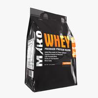 Whey Protein Powder Bag