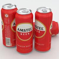 beer amstel model
