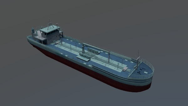 tanker 3000 m3 3D