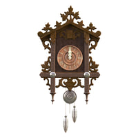 Cuckoo Clocks with Carvings