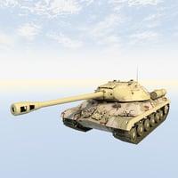 3D tank wwii model
