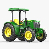 utility tractor john deere 3D