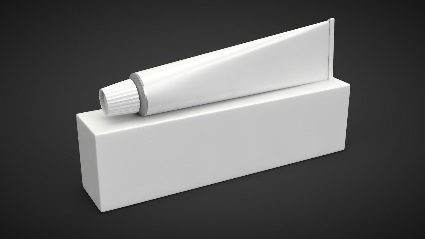 3D tube pack packaging