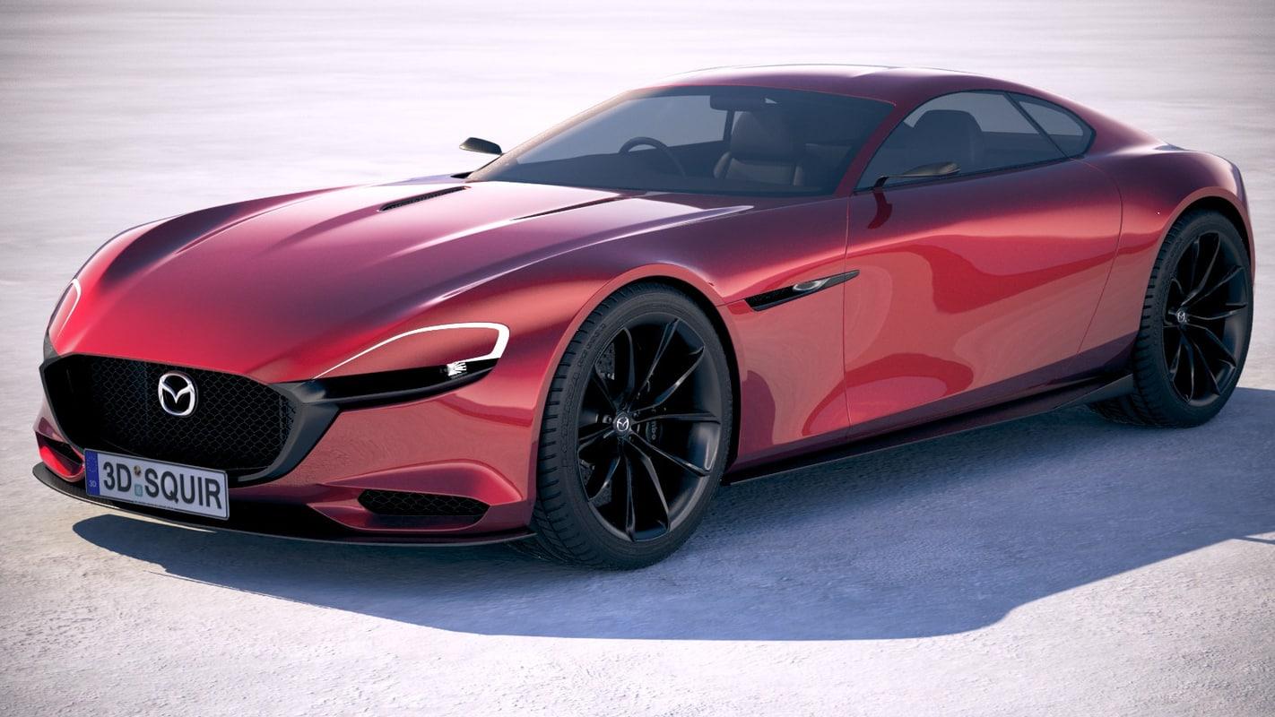 Mazda Rx 9 Vision 3D Model