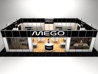 3D fair exhibition stand