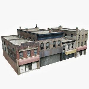 3D ready city building block