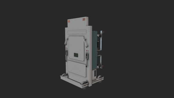 3D model electrical installation