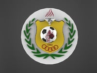 3D hebron shabab football club model